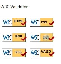 W3C Validator - Miscellaneous